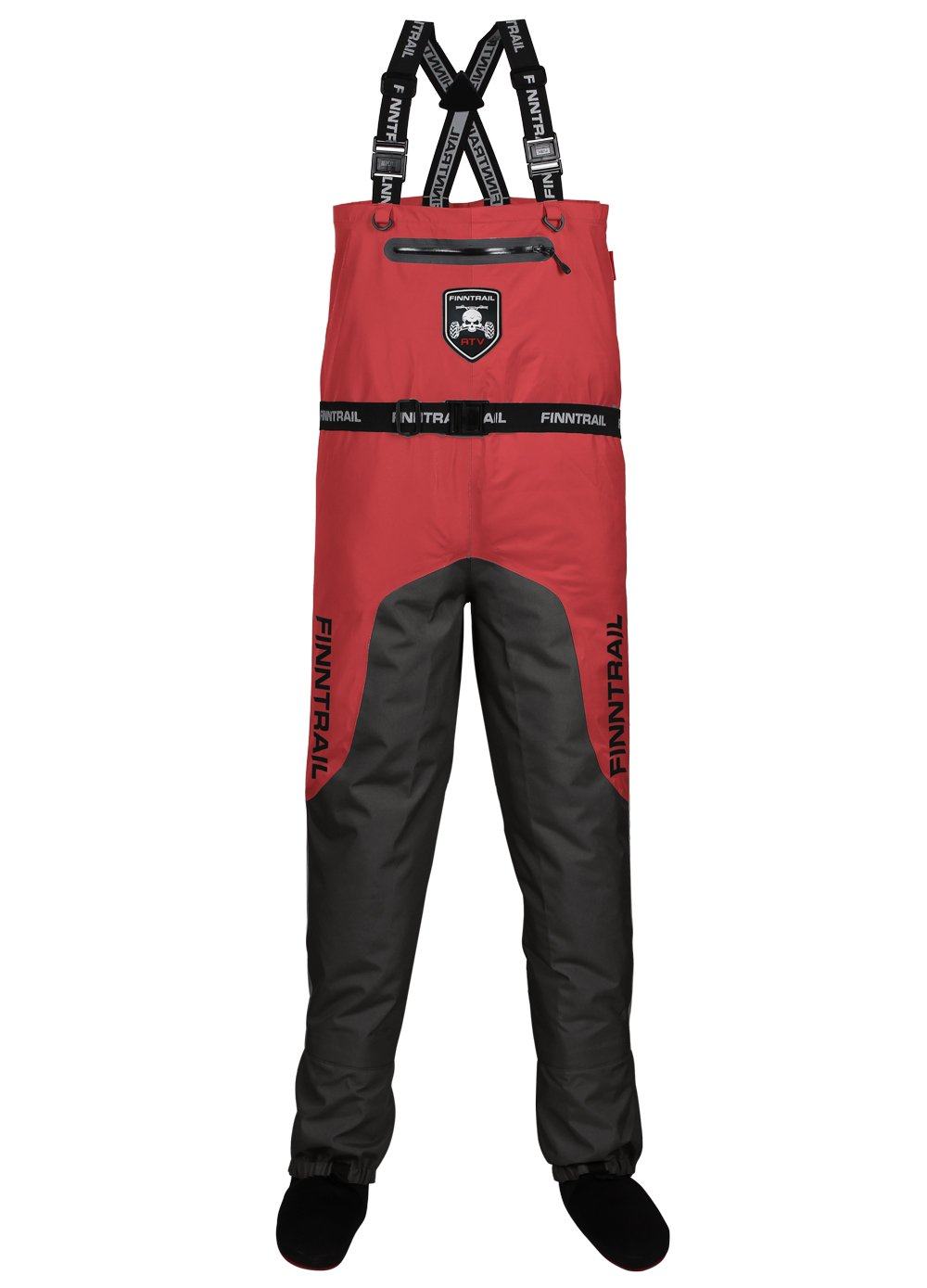 Вейдерсы Finntrail Aquamaster 1526 Gray/Red, размер XL