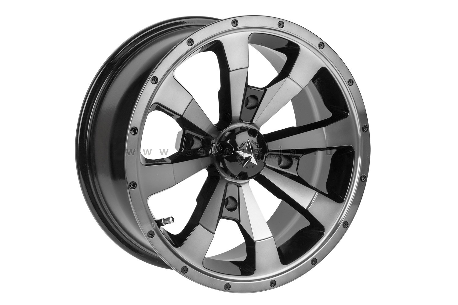 MSA M22 R15x7, 4x156, +15mm Enduro Dark Tint - диск колесный