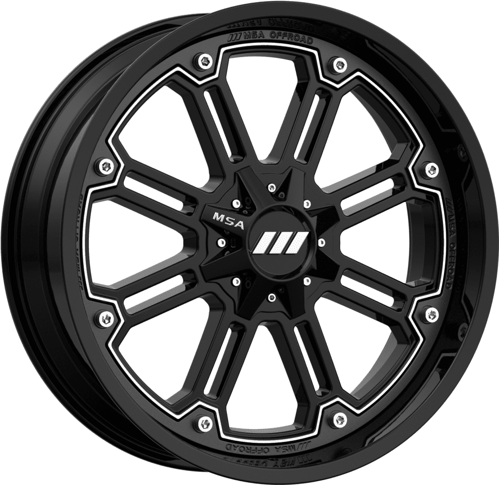 MSA M30 Throttle R14x7, 4x137, +0 mm - диск колесный