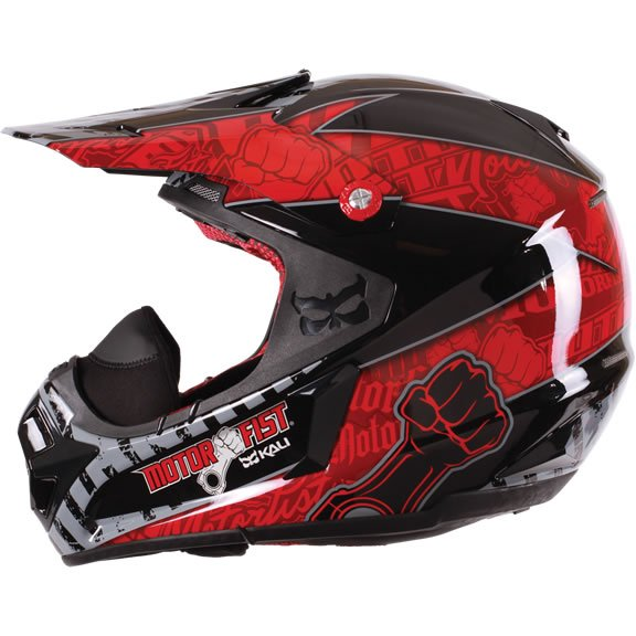 Шлем Motorfist Dominator Blk/Red, размер XS (53-54 см)