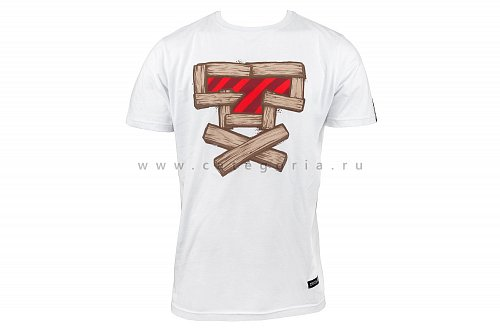 Футболка FullT T-WOOD, White, XL