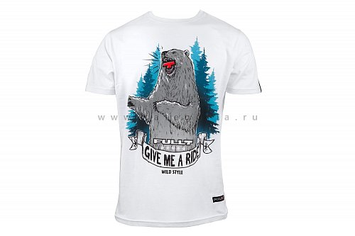 Футболка FullT BEAR, White, 3XL