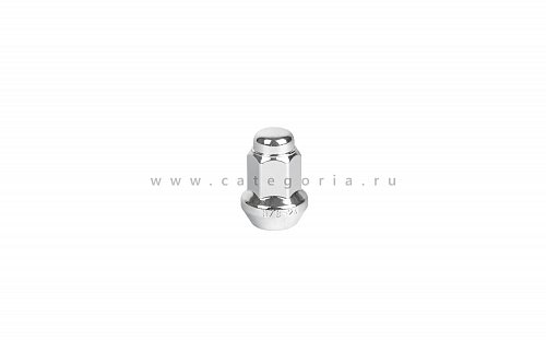 Гайка для диска MSA 3/8x24 Chrome, DF-54038