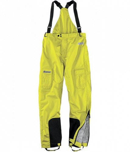 Штаны ICON PDX Waterproof Yellow, размер M