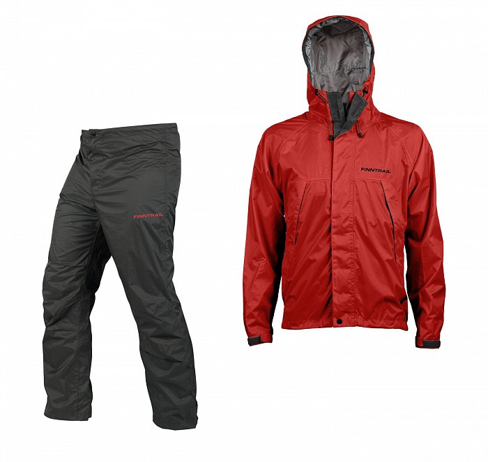 Костюм Finntrail Lightsuit 3501 Grey/Red, размер XXL