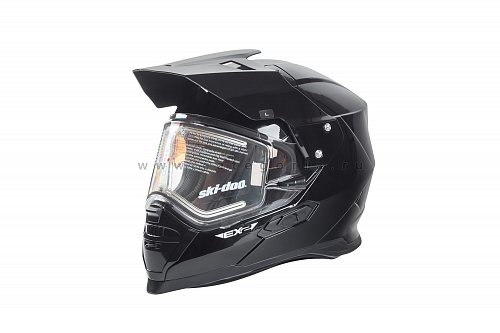 Шлем BRP EX-2 Enduro Electric Helmet, размер L, BLACK