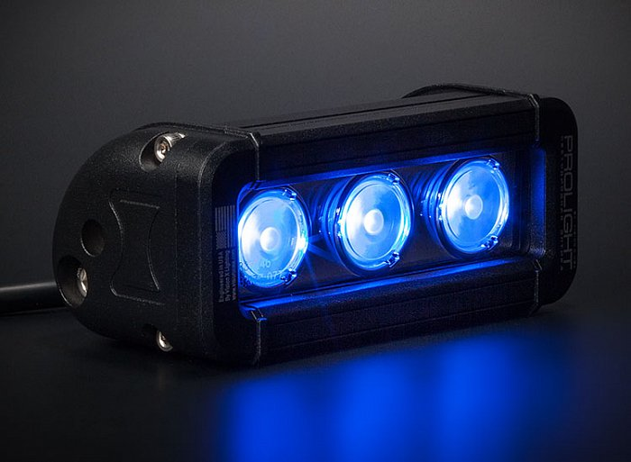 PROLIGHT Low Profile Color: XIL-LP360 Blue - фара светодиодная