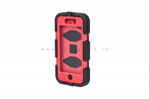 Чехол для iPhone 5 Griffin Survivor Case Black/Red