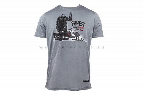 Футболка FullT FOREST HERO, Gray, 3XL