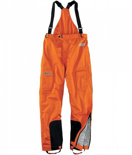 Штаны ICON PDX Waterproof Orange, размер L